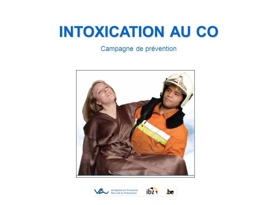 INTOXICATION AU CO Campagne de prévention