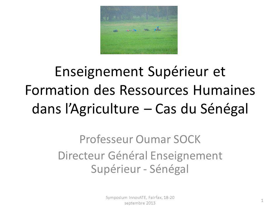 Délégation Sénégal avec Pdt STEGER Symposium InnovATE, Fairfax, 18-20 septembre 2013 2