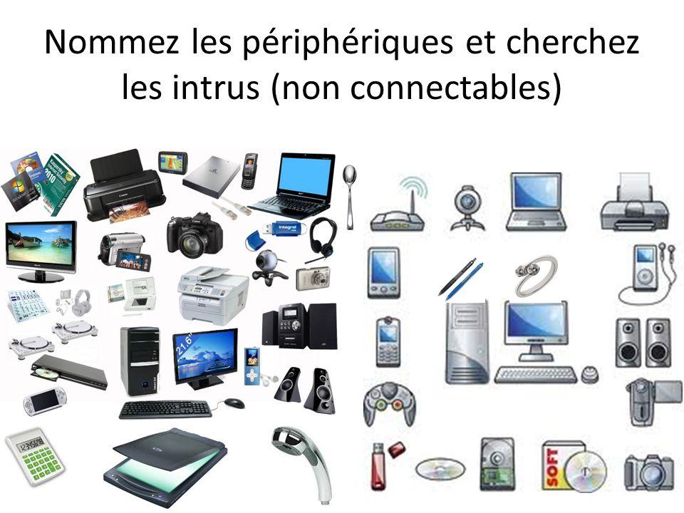 Nommez les périphériques et cherchez les intrus (non connectables)