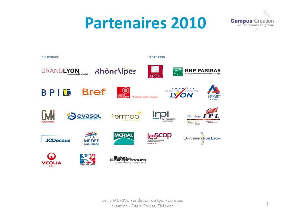 soria MEKIKA, Fondation de Lyon/Campus création - Régis Goujet, EM Lyon 4 Partenaires 2010
