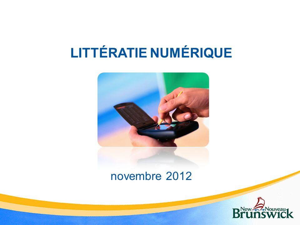 LITTÉRATIE NUMÉRIQUE novembre 2012