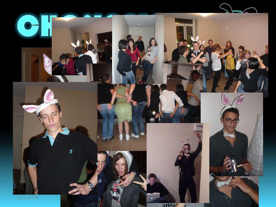 05/11/2008Amphi de présentation CHOLAPINTE15