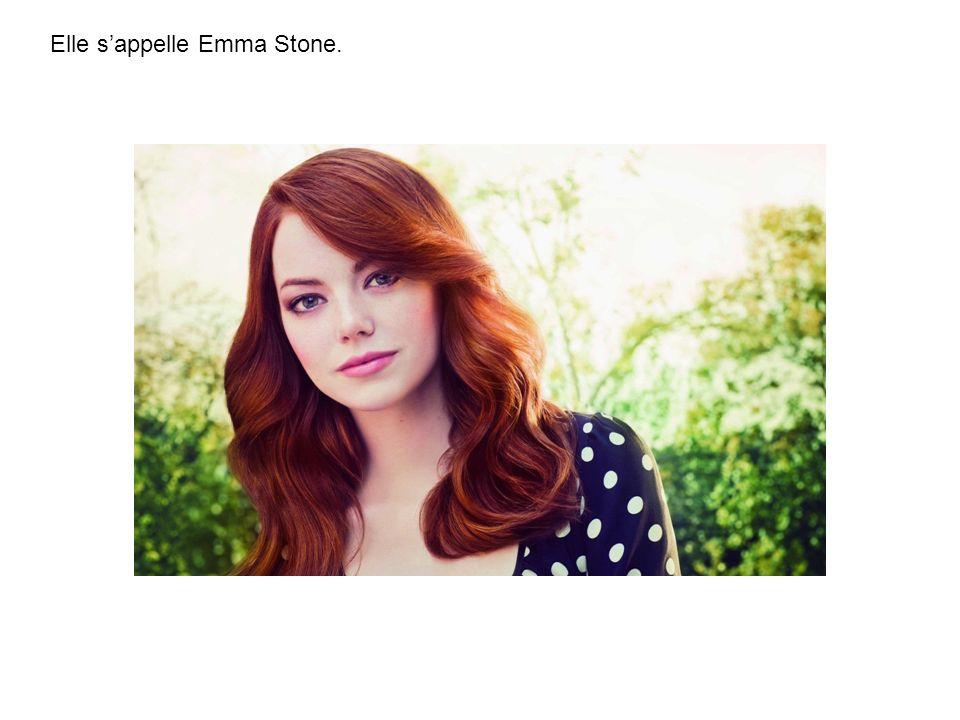 Elle sappelle Emma Stone.