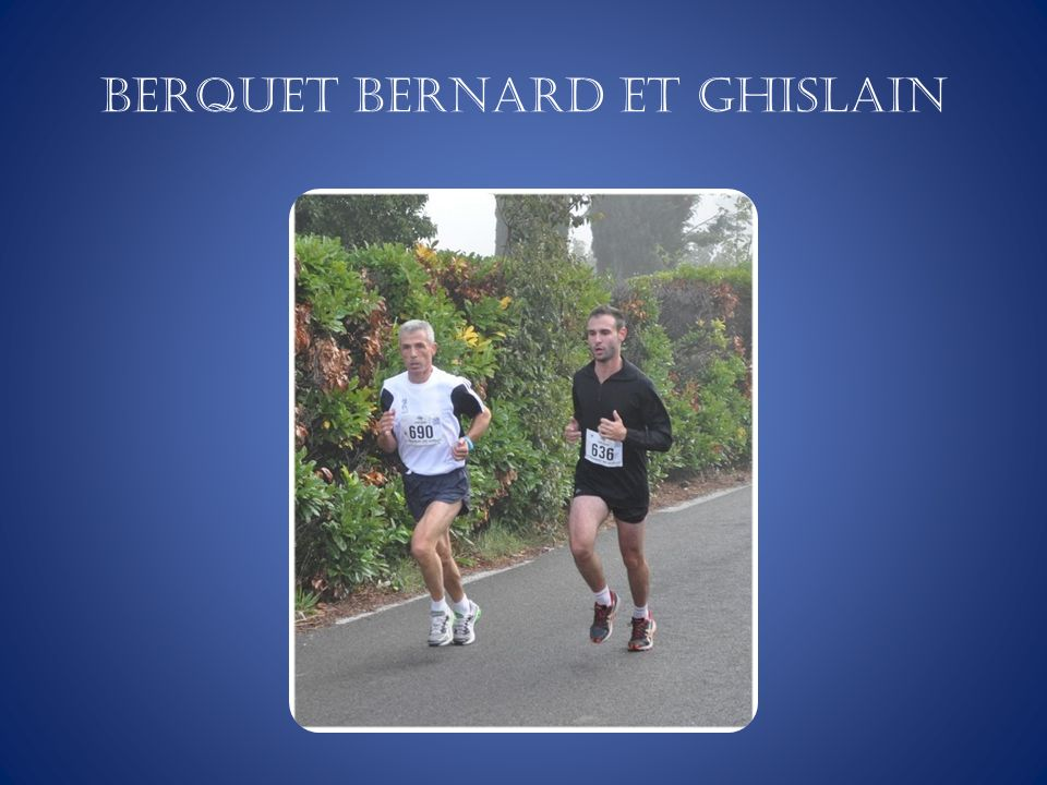 BERQUET Bernard et Ghislain