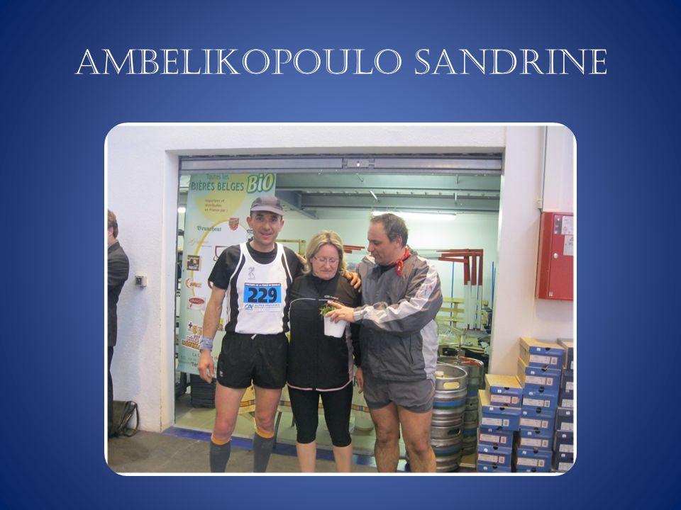 AMBELIKOPOULO Sandrine