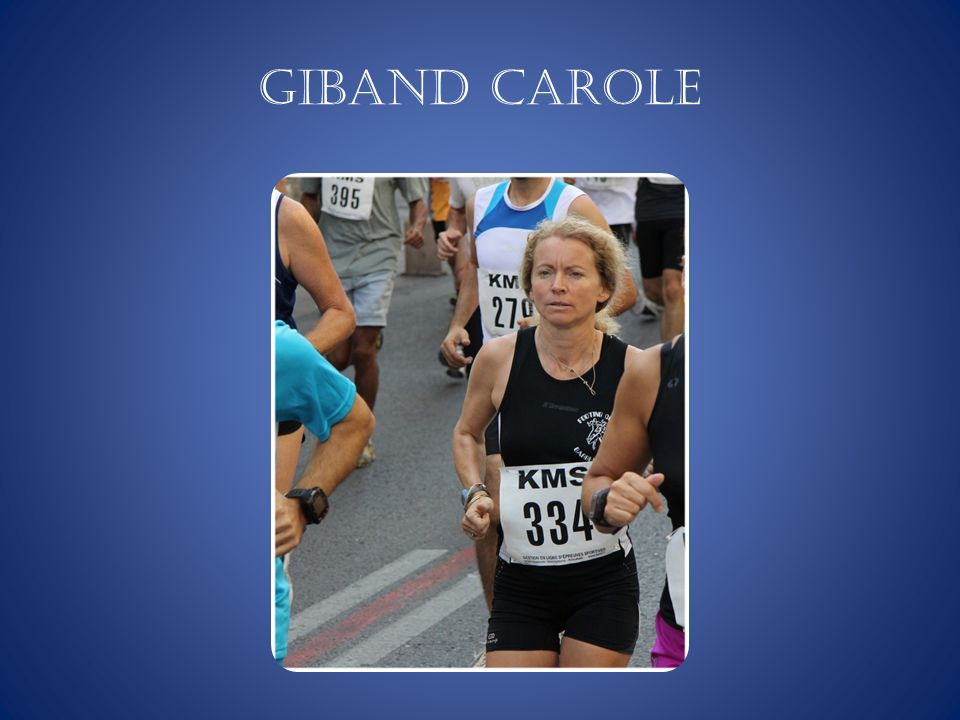 GIBAND Carole