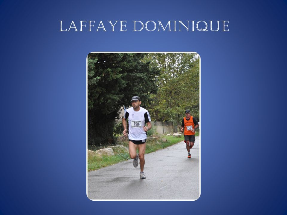 LAFFAYE Dominique