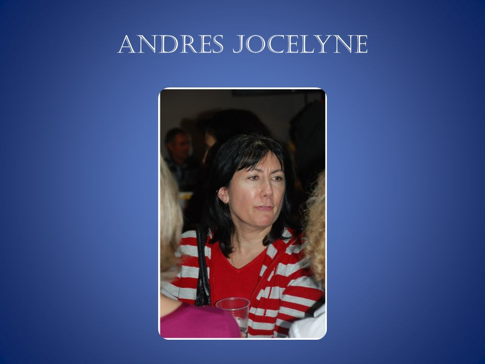 ANDRES Jocelyne