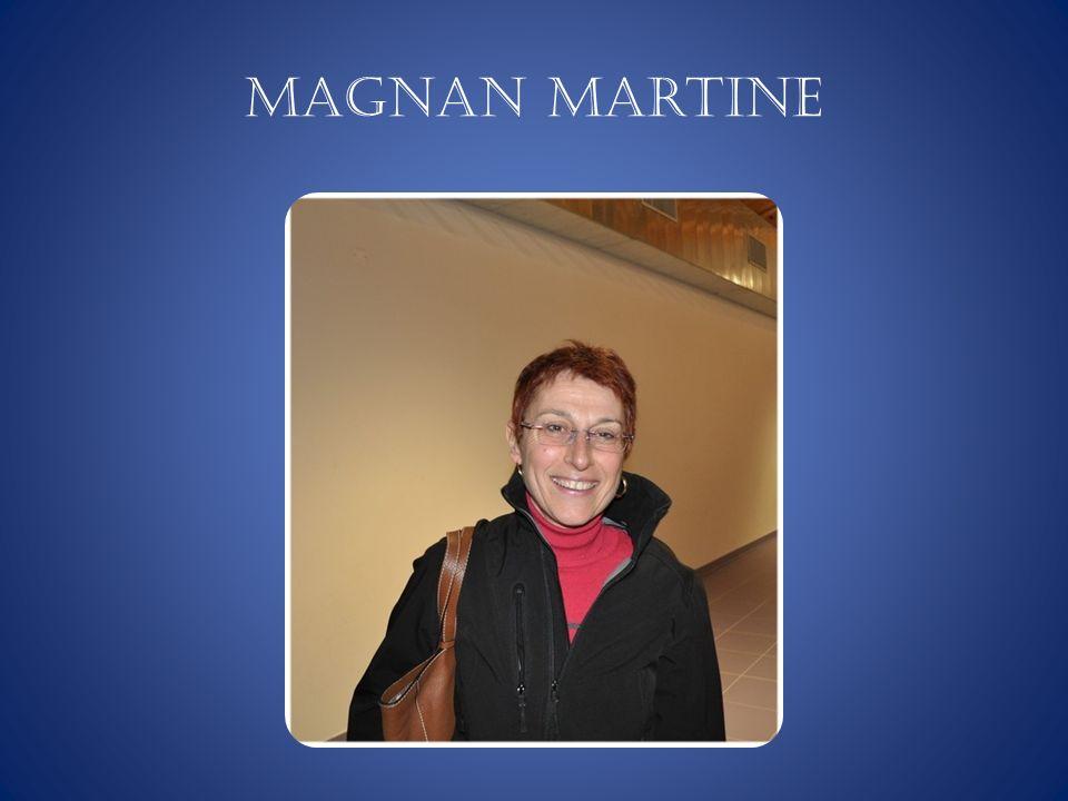 MAGNAN Martine