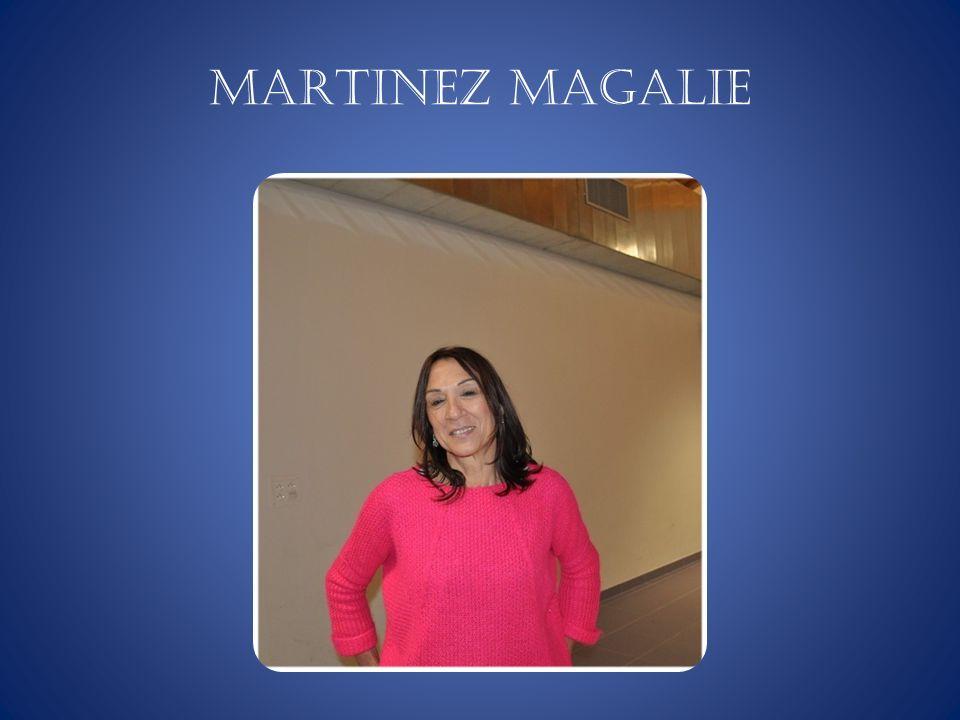 MARTINEZ Magalie