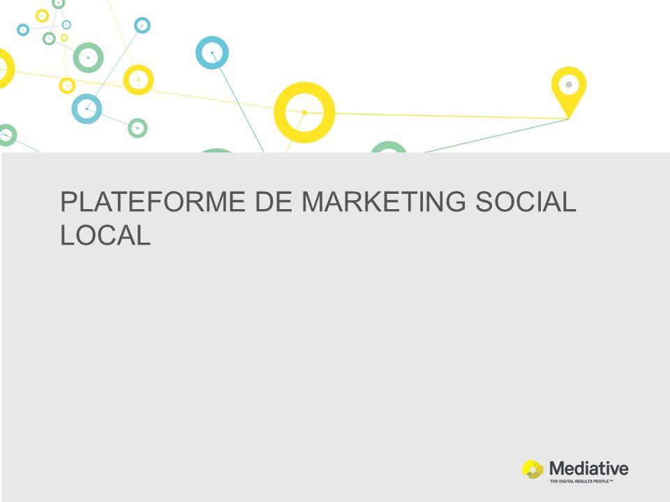 PLATEFORME DE MARKETING SOCIAL LOCAL
