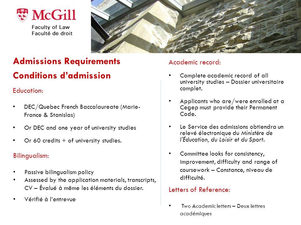 342 demandes dadmissions 78 convoqués en entrevues 29 offres dadmission Cote R moyenne = 34.32 R score 36.26 R score 32.1 342 applications 78 candidat