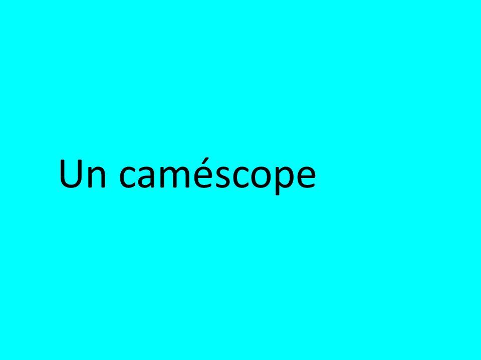 Un caméscope