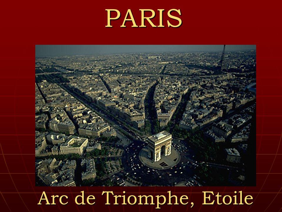 PARIS Arc de Triomphe, Etoile