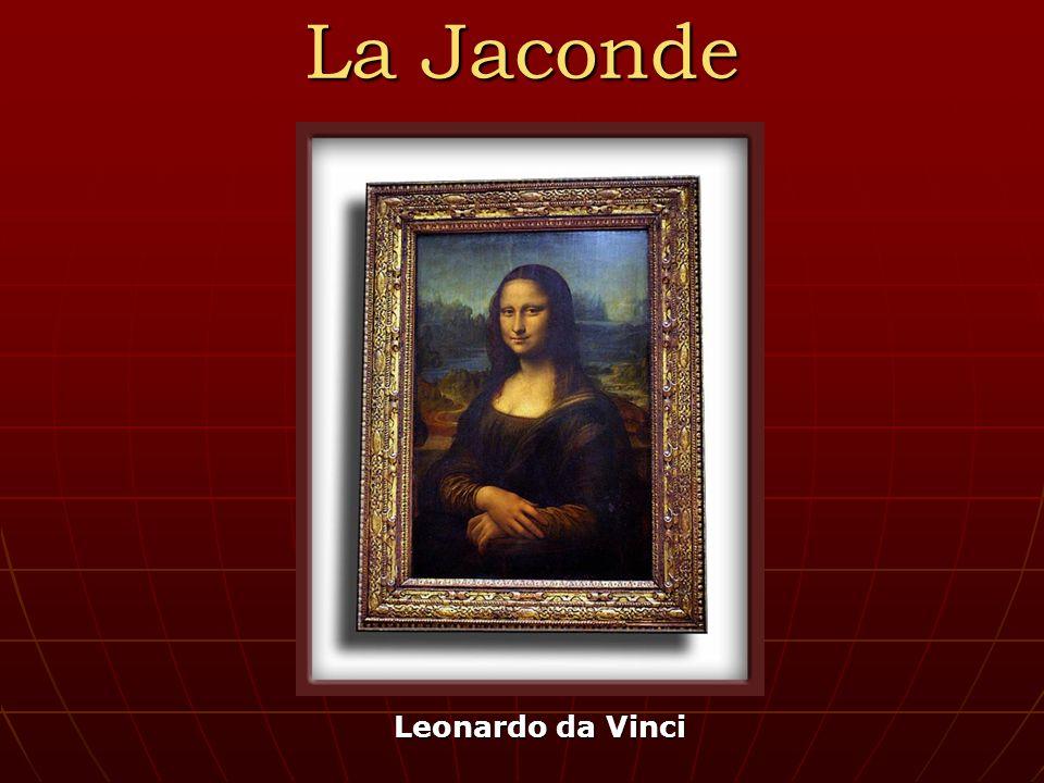La Jaconde Leonardo da Vinci