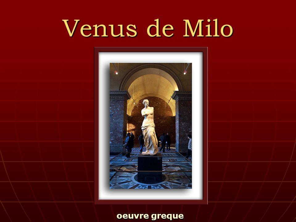 Venus de Milo oeuvre greque