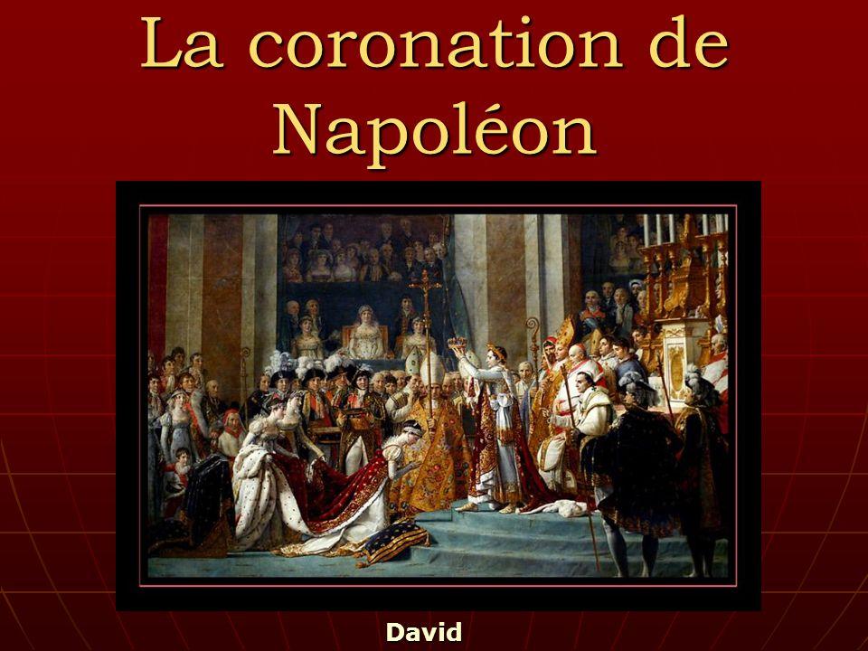 La coronation de Napoléon David