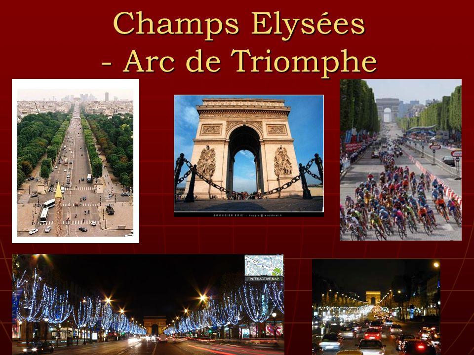 Champs Elysées - Arc de Triomphe
