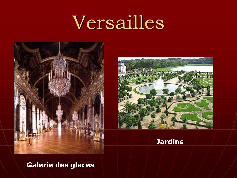 Versailles Galerie des glaces Jardins