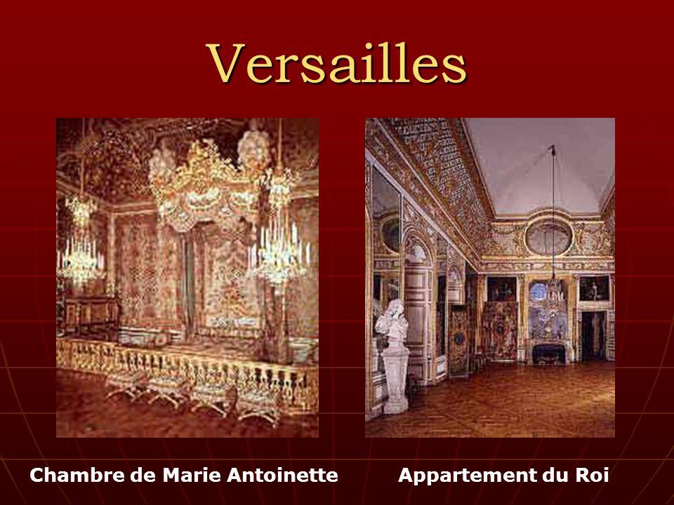 Versailles Appartement du RoiChambre de Marie Antoinette