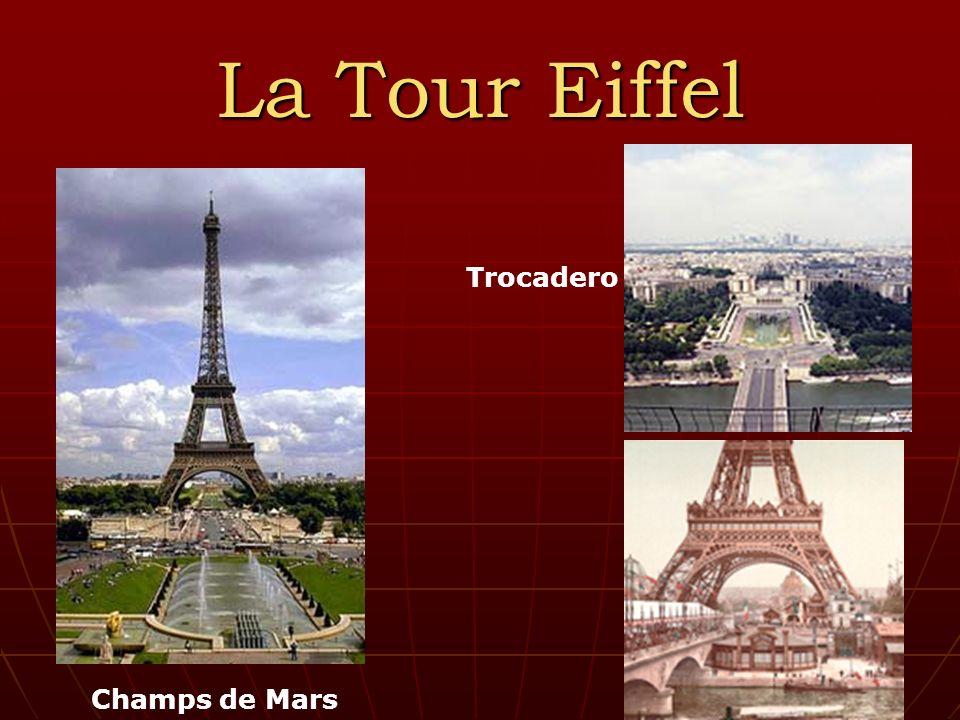 La Tour Eiffel Champs de Mars Trocadero