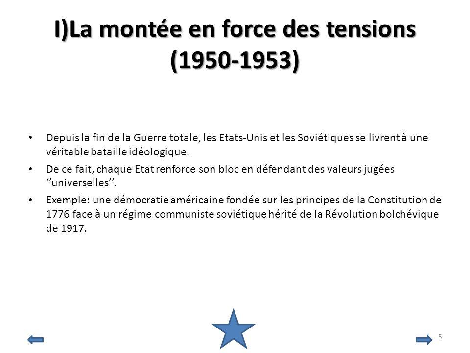 BIBLIOGRAPHIE La coexistence pacifique,1958 par F.Perroux Livre de Terminales Histoire, édition Hatier Larousse et site officiel: http://www.larousse.fr/encyclopedie/divers/guerre_froide/122564 http://www.guerrefroide.net/pages/estvsouest Images: http://citizenzoo.files.wordpress.com/2009/11/ken_khr.jpg http://www.fncv.com/biblio/conflits/coree/index.html http://upload.wikimedia.org/wikipedia/commons/thumb/5/57/Cuban_missiles.jpg/26 0px-Cuban_missiles.jpg http://www.linternaute.com/actualite/savoir/06/chefs-etat/que-sont-ils- devenus/images/mikhail-gorbachev.jpg http://bricabraque.unblog.fr/files/2009/10/willybrandtkniefallwarschauerghettojpg.jp eg http://www.sidryan2.com/uploads/ronald_reagan_picture.jpg