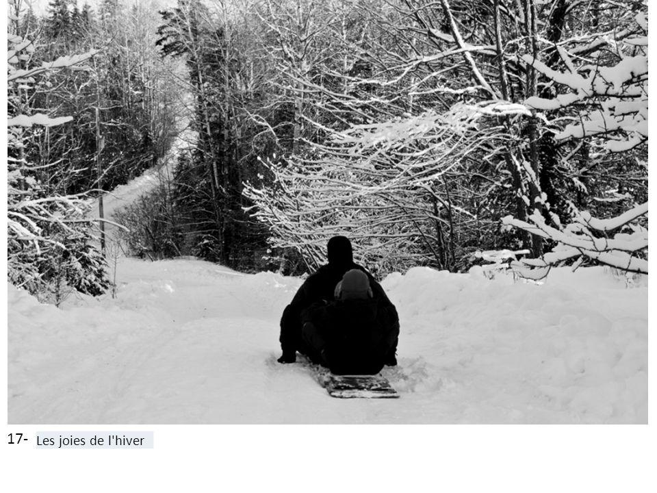 17- Les joies de l'hiver
