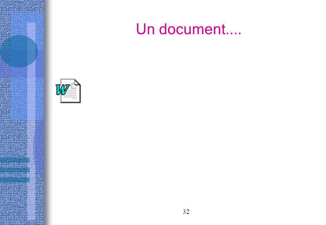 32 Un document....
