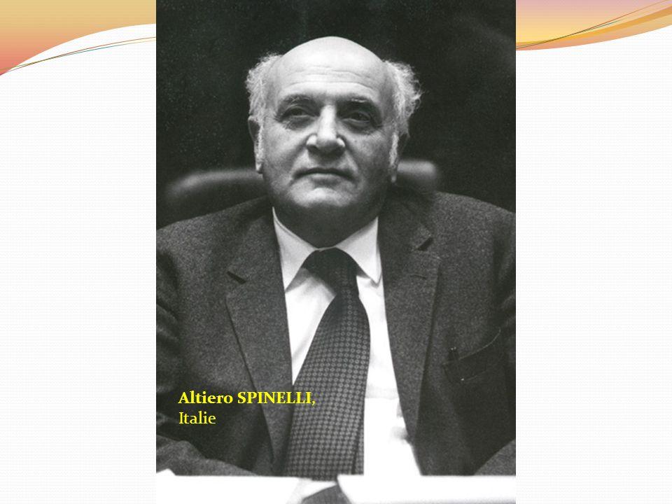 Altiero SPINELLI, Italie