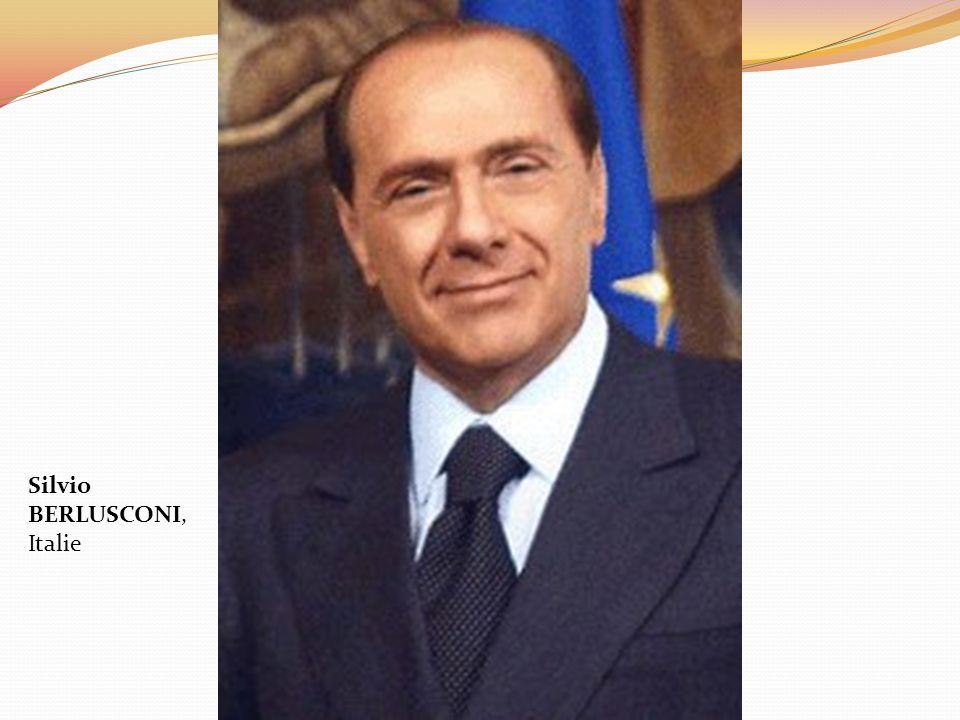 Silvio BERLUSCONI, Italie