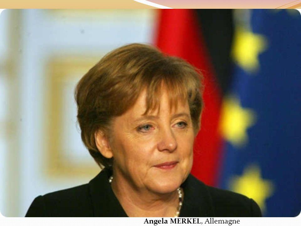 Angela MERKEL, Allemagne