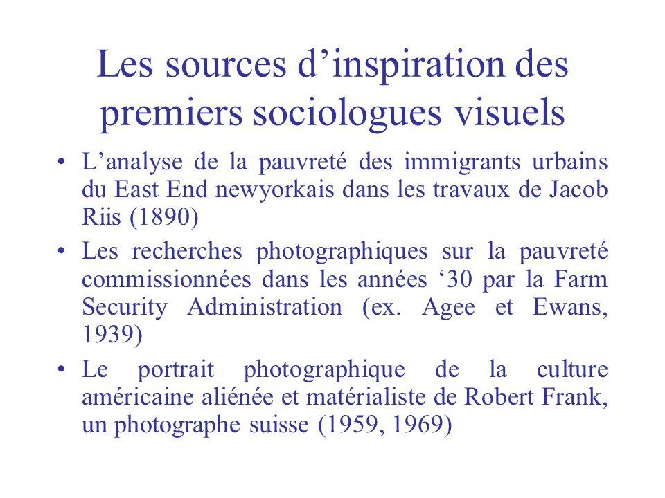 Les sources dinspiration des premiers sociologues visuels Lanalyse de la pauvreté des immigrants urbains du East End newyorkais dans les travaux de Ja