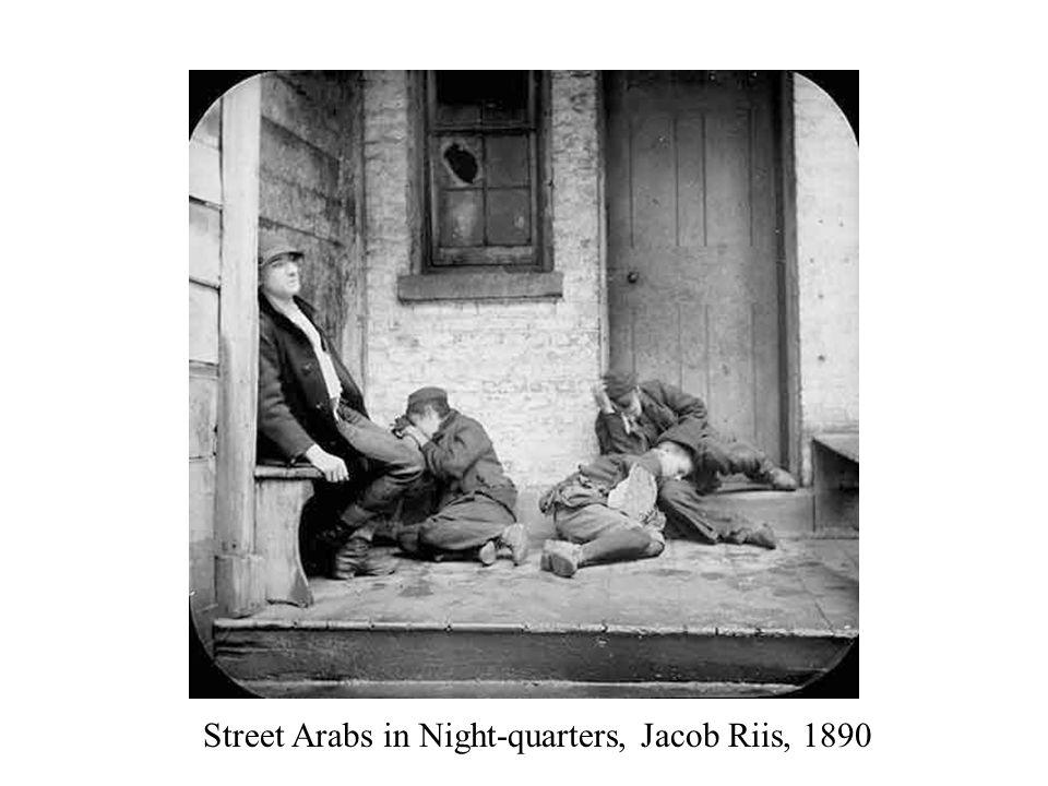 Street Arabs in Night-quarters, Jacob Riis, 1890