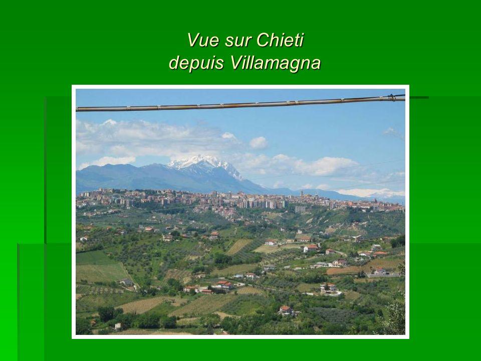Vue sur Chieti depuis Villamagna