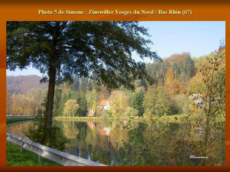 Photo 5 de Simone : Zinswiller Vosges du Nord / Bas Rhin (67)
