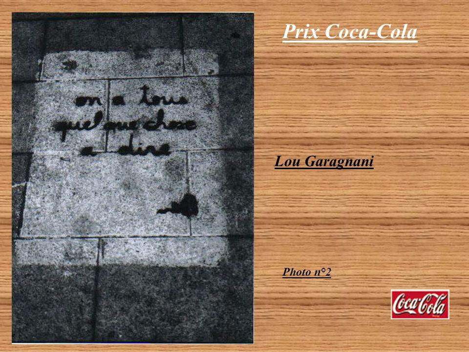 Prix Coca-Cola Lou Garagnani Catégorie Lycéen 2 photos NB primées Photo n°1