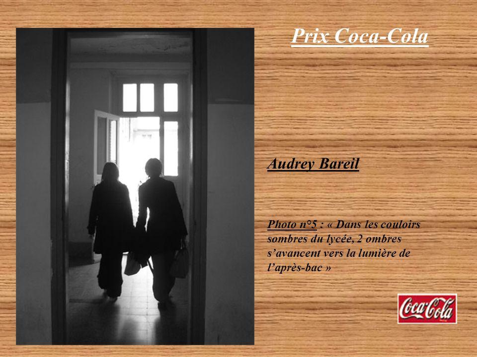Prix Coca-Cola Audrey Bareil Photo n°4 : « Les cours de philosophie, une découverte de léchange interhumain »