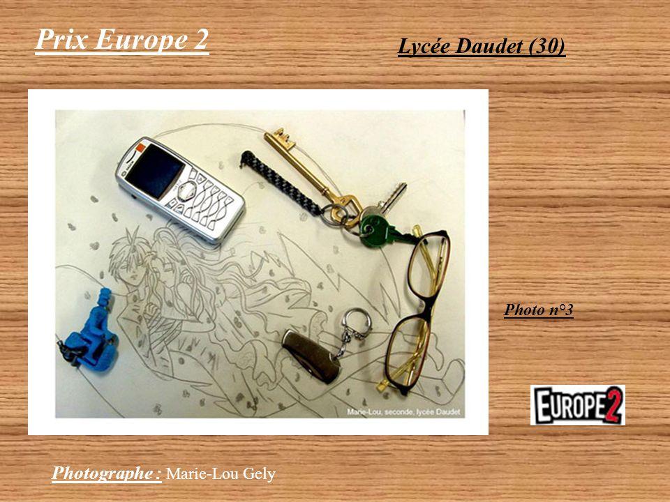 Prix Europe 2 Lycée Daudet (30) Photographe : Kévin Espana Photo n°2