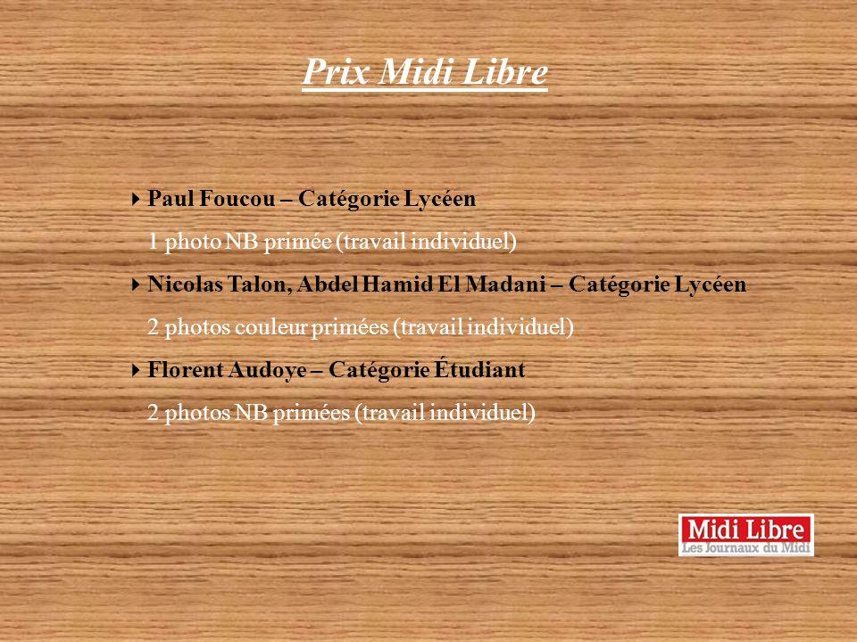 Prix Europe 2 Vernet Marie-Laure Catégorie Autre 1 photo couleur primée