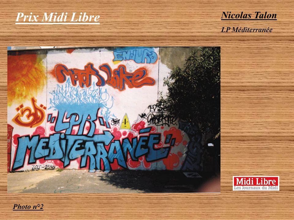 Prix Midi Libre Catégorie Lycéen 2 photos couleur primées Abdel Hamid El Madani LP Méditerranée Photo n°1