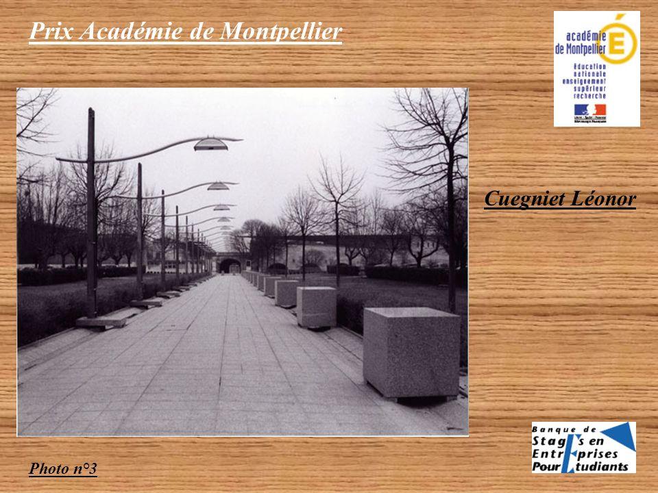 Prix Académie de Montpellier Photo n°2 Cuegniet Léonor