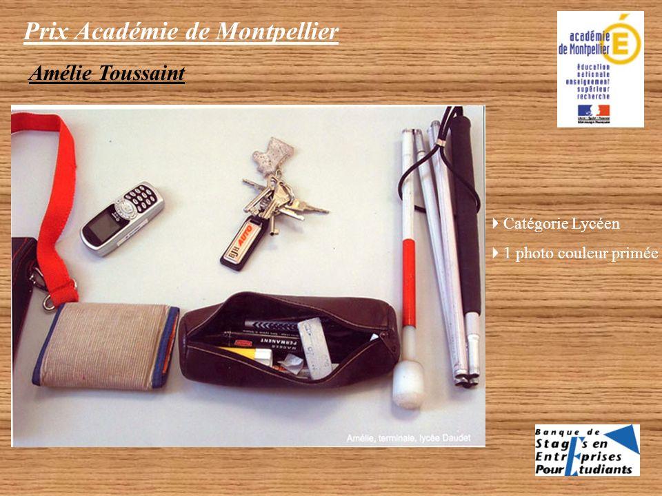 Prix Académie de Montpellier Photo n°3 Cuegniet Léonor