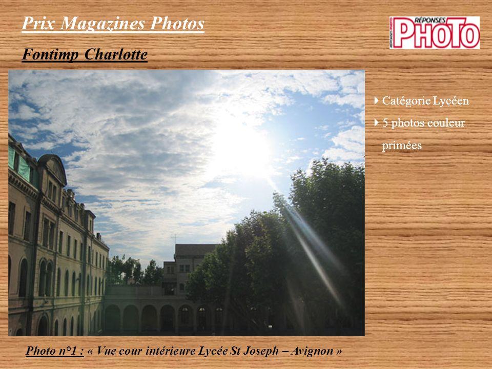 Prix Magazines Photos Collège Lasalle Classe de 5ème Photo n°2