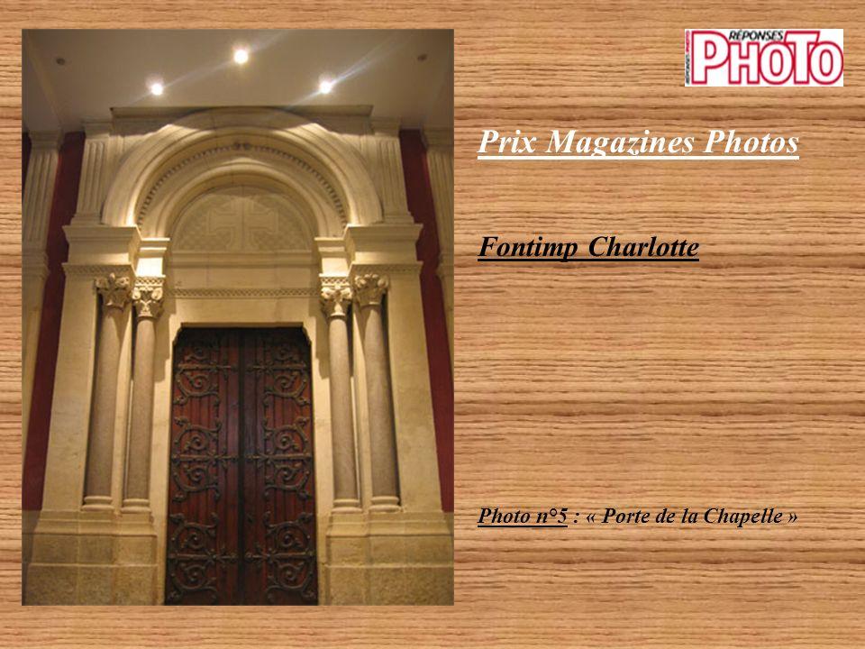 Prix Magazines Photos Fontimp Charlotte Photo n°4 : « Escaliers »