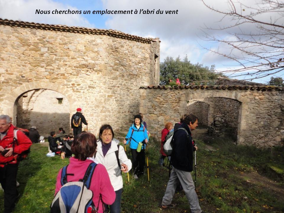 Arrivée aux « Ruines de Tibéret », lieu de notre repas