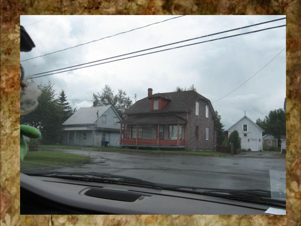 On dirais ben une maison verte HAHA!!