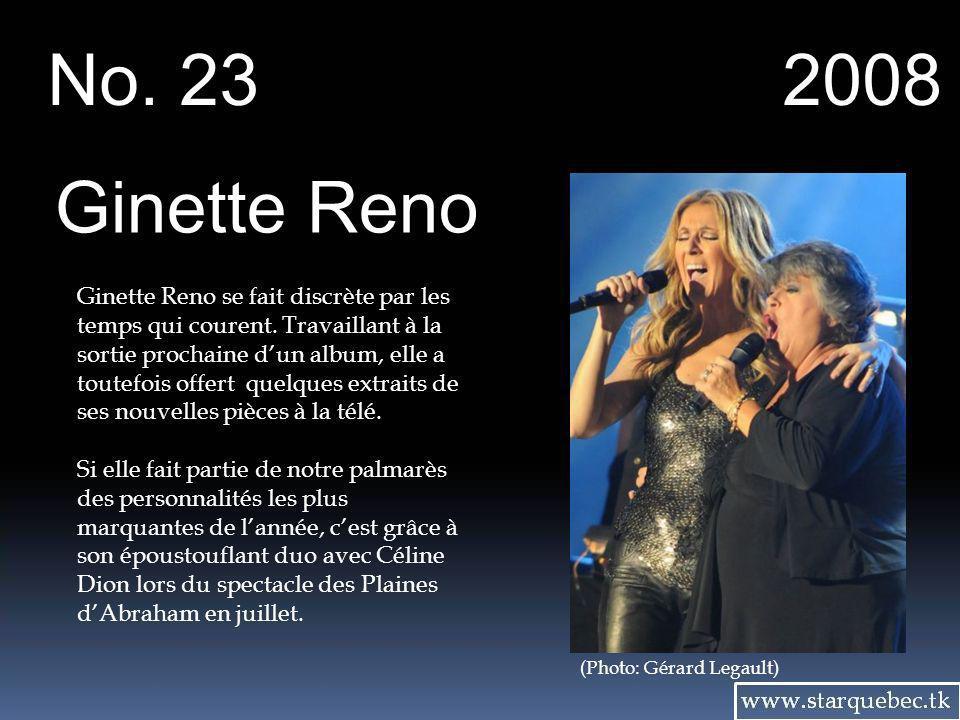(Photo: Canoe) La chanteuse Isabelle Boulay flirte de nouveau avec les palmarès.