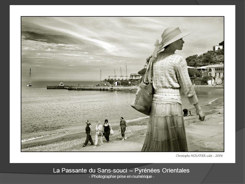 La Passante du Sans-souci – Pyrénées Orientales - Photographie prise en numérique -