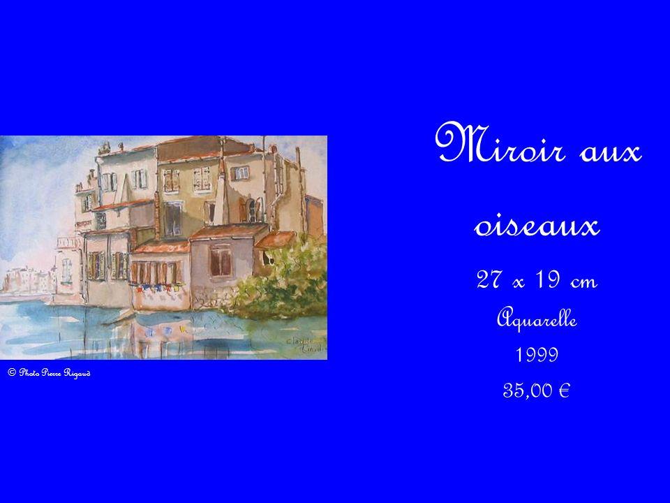 Multiptyque – Quai Marceau 2 18 x 26 cm Aquarelle 2009 30,00 © Photo Pierre Rigaud