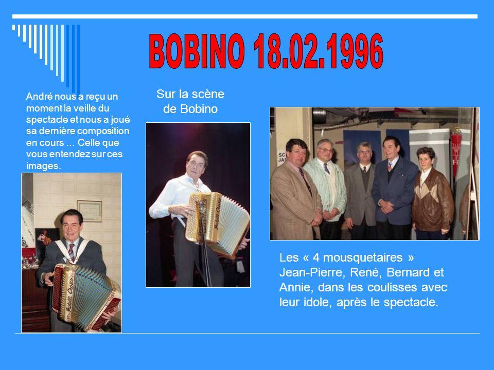 Avril 1995 : vingt ans après… Pour la 1ère fois je quittais mon cher pays pour aller voir André en région parisienne, sur linvitation de mes amis Bern